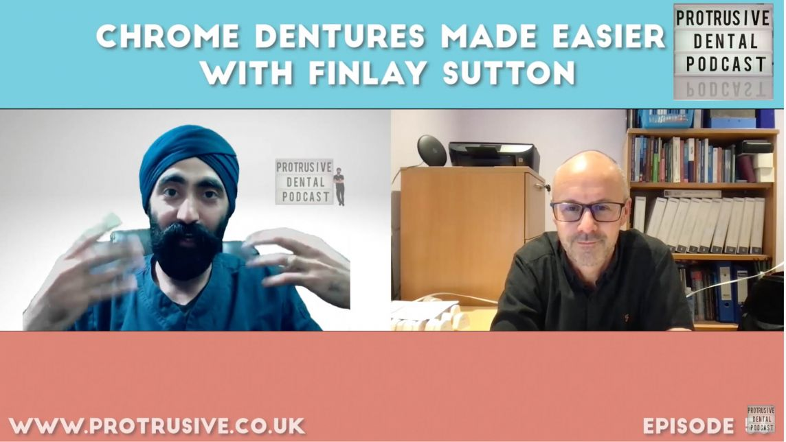 Chrome Dentures Made Easier with Finlay Sutton Podcast - PDP056